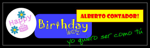 Happy birthday, Alberto!