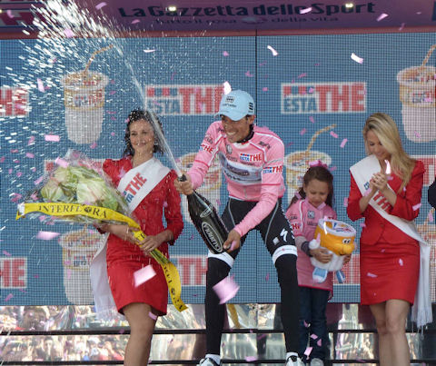 First stage win in the Giro!