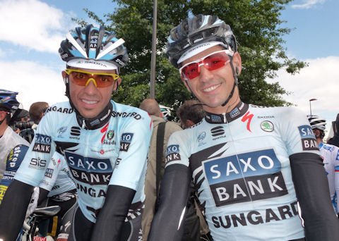 Alberto and Jesus before Stage 7