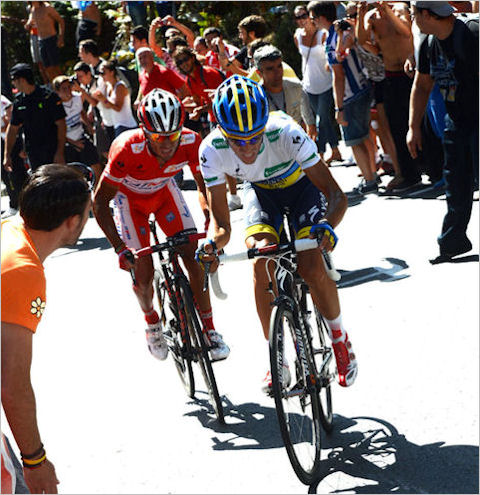 Contador and Purito duel to the finish in La Vuelta 2012 Stage 12