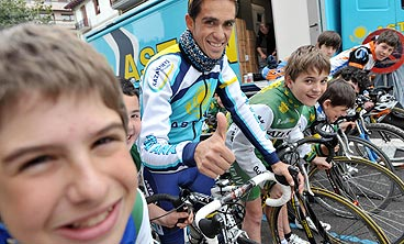 Contador and young riders