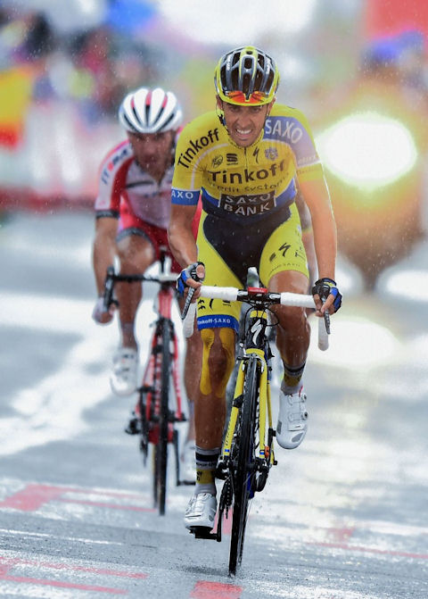 Contador attacked with strength in Stage 9