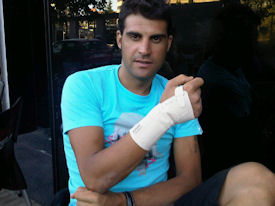 Oscar Pereiro's old Tour injury may keep him out of this year's Vuelta