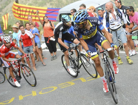 Alberto finds his attack legs in Andorra